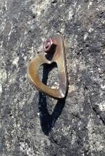 "BAD: 1/4"" threaded bolt with SMC hanger"